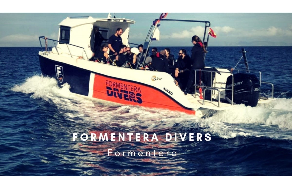 FORMENTERA DIVERS I 2 NIGHTS + 2 DAYS DIVING I BALEARIC ISLANDS I SPAIN