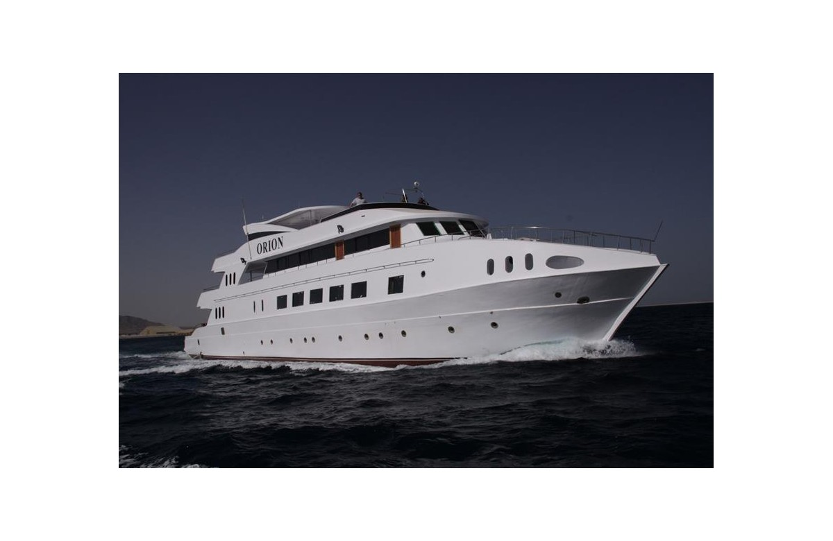 MY ORION I FULL CHARTER I RED SEA