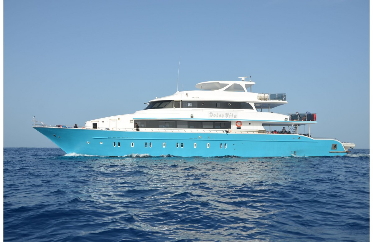 DOLCE VITA I FULL CHARTER I NORTH ROUTE - BROTHERS I RED SEA