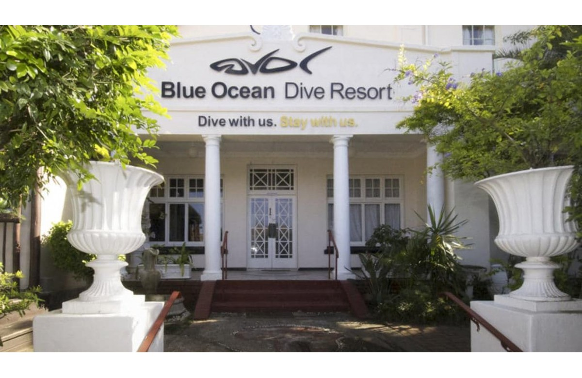 BLUE OCEAN DIVE RESORT I 7 NIGHTS ACCOMMODATION BREAKFAST I ALIWAL SHOAL I SUDAFRICA