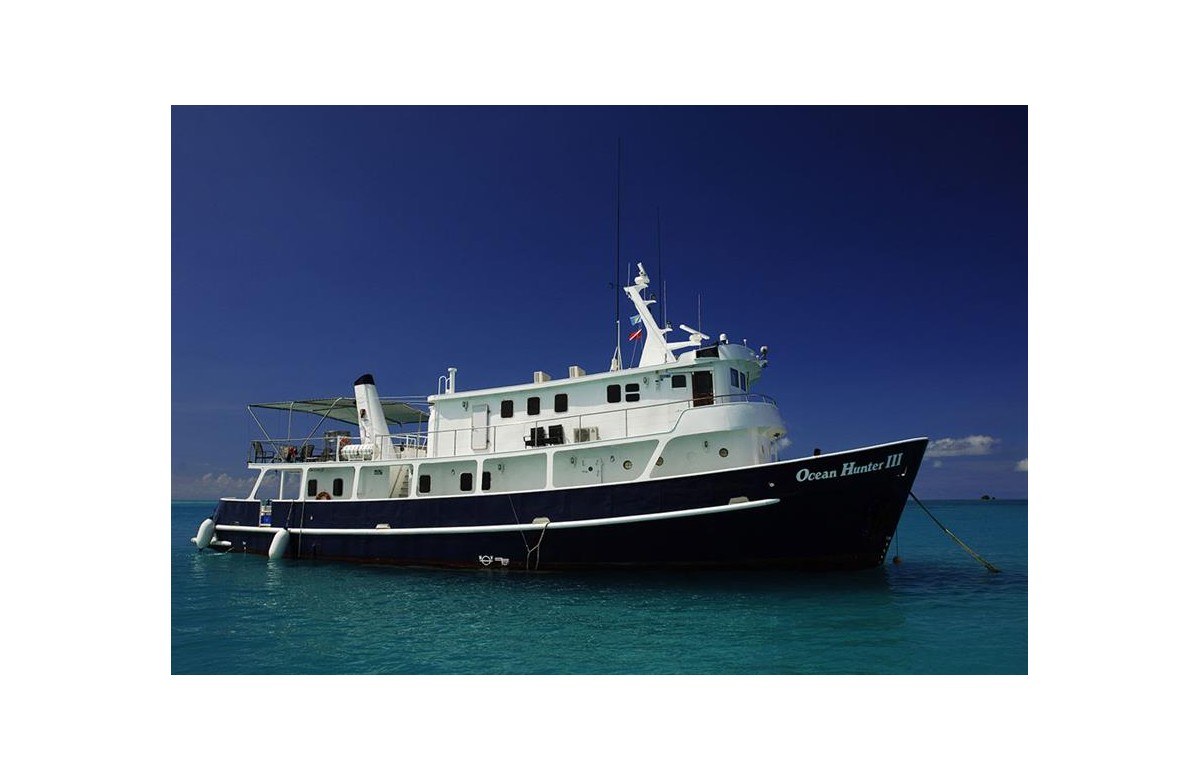 OCEAN HUNTER III I JAN - JUN 2020 I 7 NIGHTS I PALAU