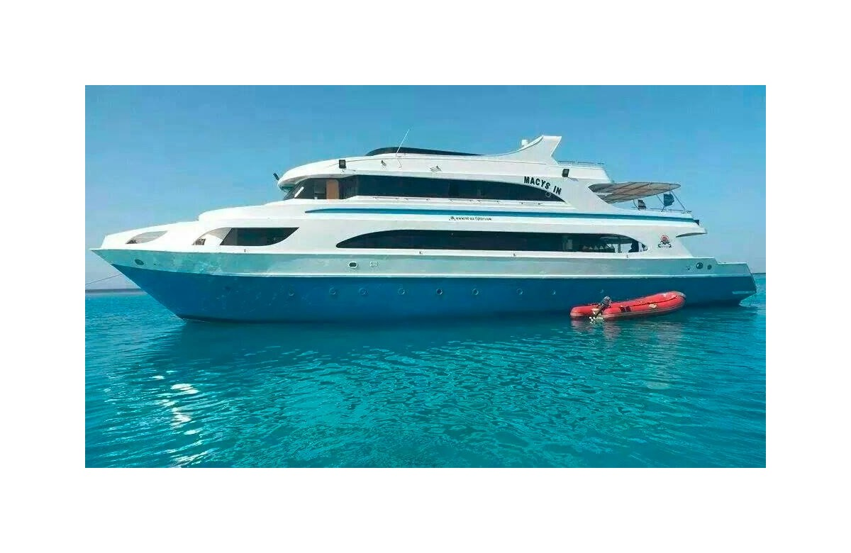 MY MACYS IN I FULL CHARTER I NORTH ROUTE RED SEA