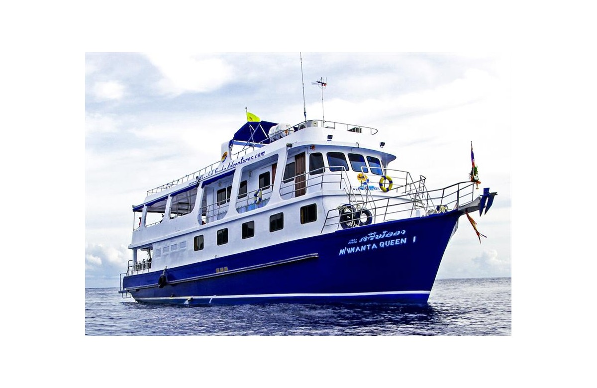MANTA QUEEN 1 I 100€ DISCOUNT I OCT 2020 I 4 NIGHTS I SIMILANS - RICHELIEU ROCK - BOON SUNG WRECK I THAILAND